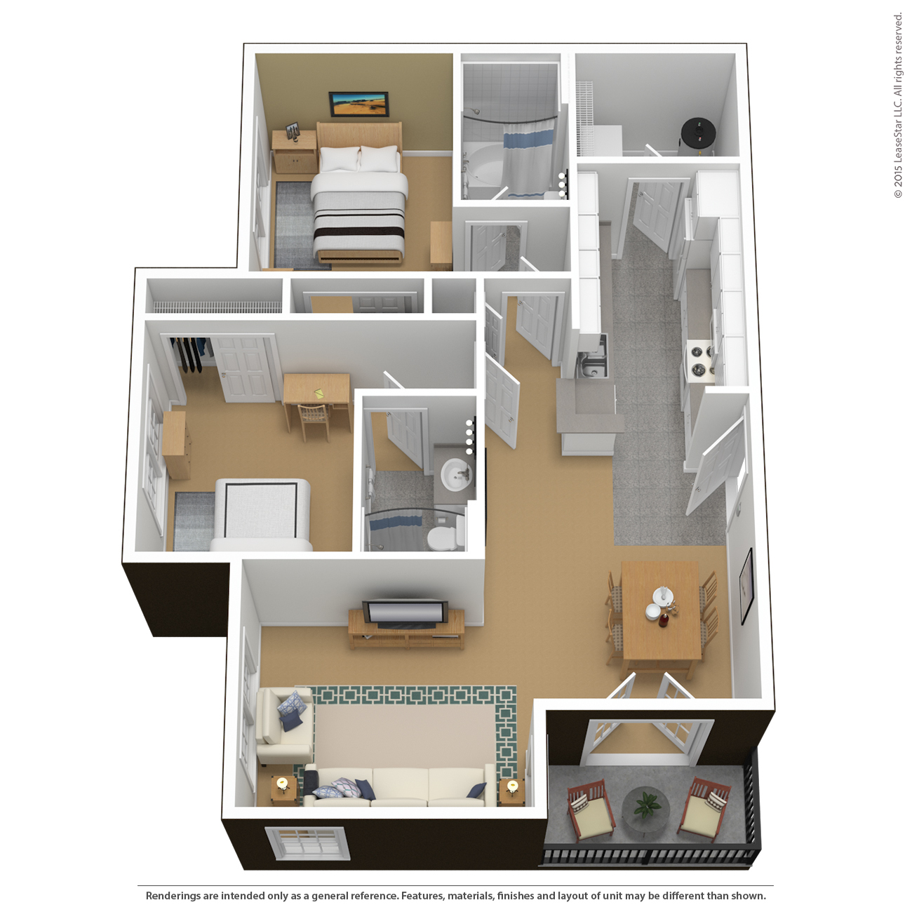 floor plans virtual tours the courtyards. Black Bedroom Furniture Sets. Home Design Ideas